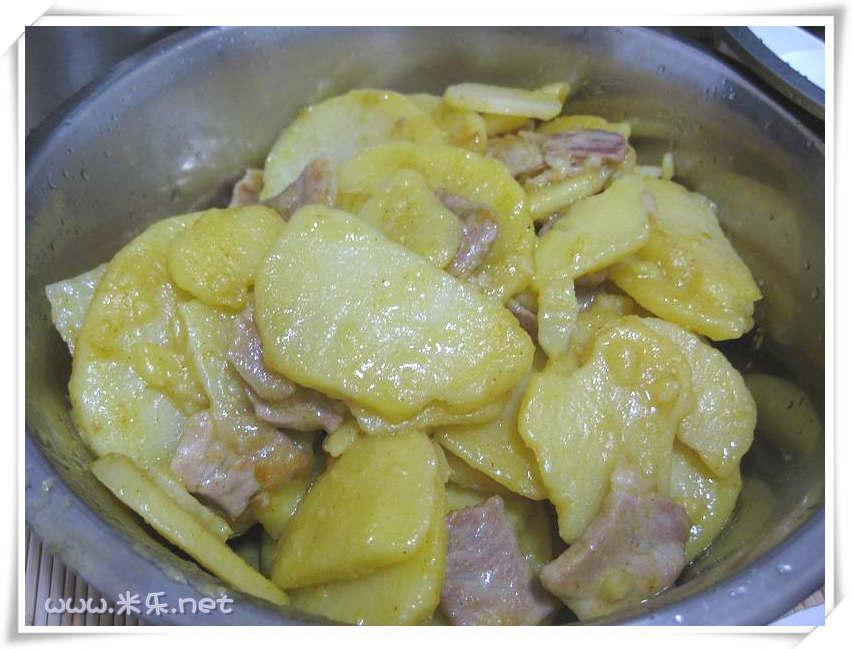 """最爱的""""咖喱土豆""""-晚餐自己做"""