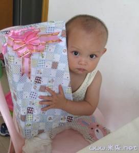 奶奶给小米寄来的儿童节礼物