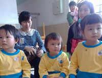 米米学校的第一次亲子活动